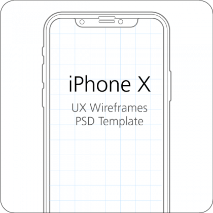 iPhone X UX Wireframes
