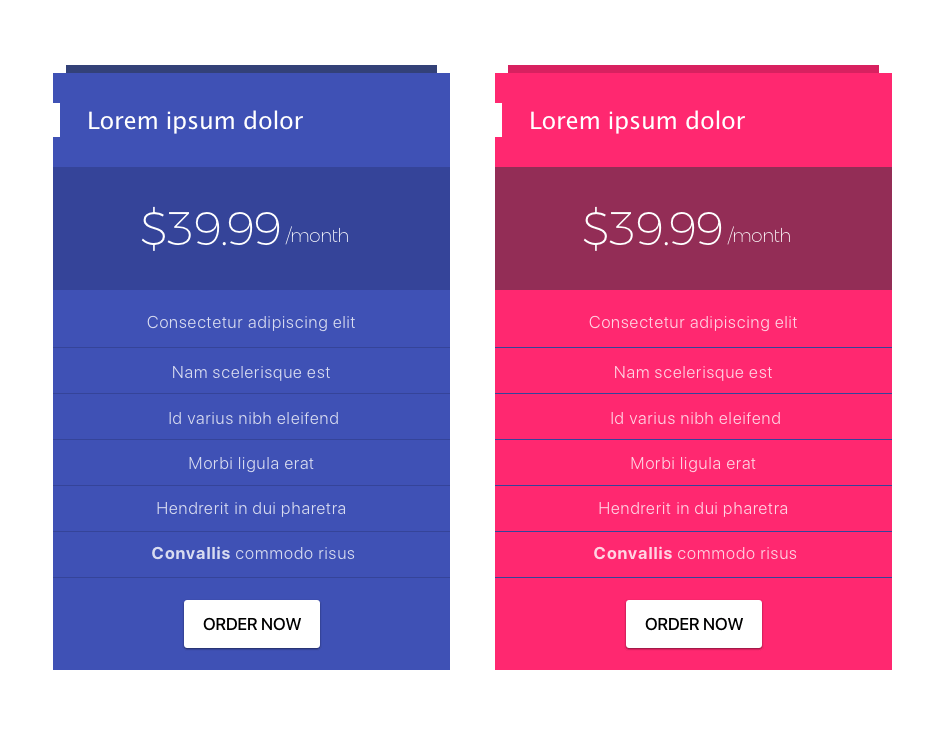 pricing-tables-material-design
